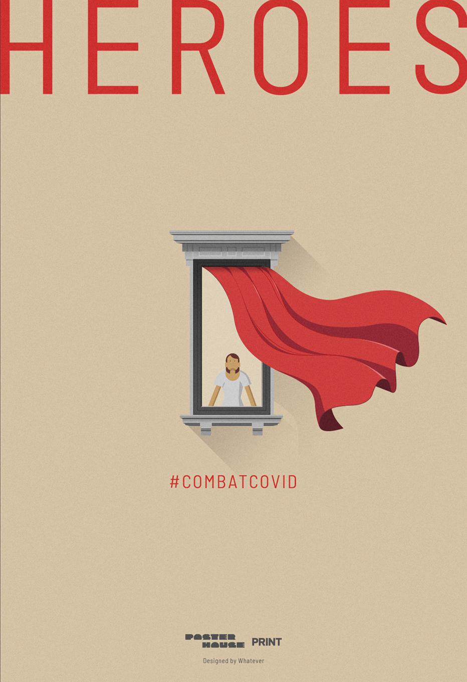 #COMBATCOVID──ポスターのゆくえ